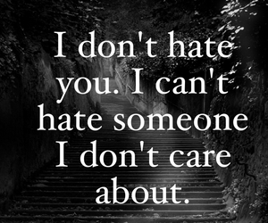 quote and hate image
