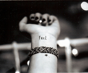 feel and tattoo image