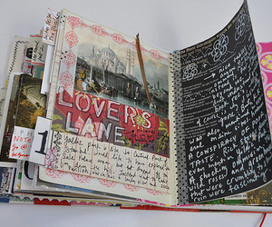 art journal and travel journal image