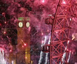 london, new year, and 2014 image