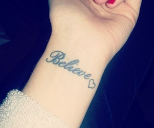 believe, girl, and love image