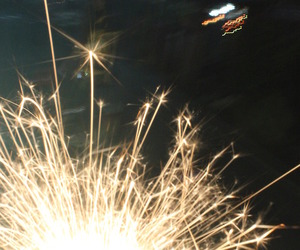 fireworks, new year, and grunge image
