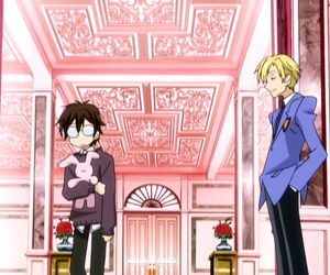 anime, couple, and ouran image