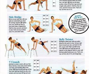 body, exercise, and work out image