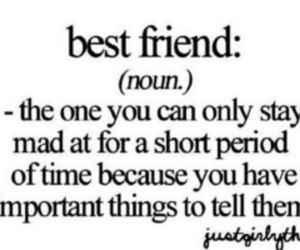 best friends, girls, and text image