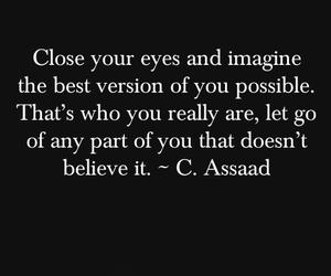 quotes, believe, and imagine image