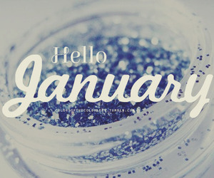 january, hello, and 2014 image