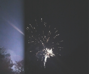 fireworks, new year, and 2014 image