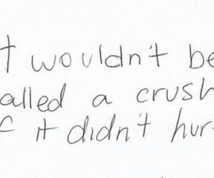 love, quote, and crush image