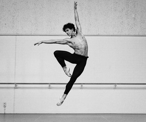 ballet, dance, and male image