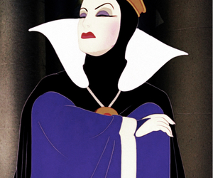 disney, Queen, and snow white image