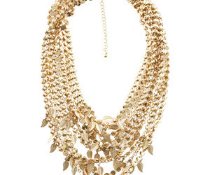 necklace gold layered image