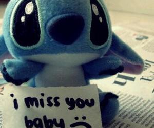 stitch, i miss you, and miss image