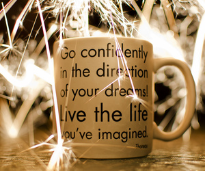 cup, dreams, and life image