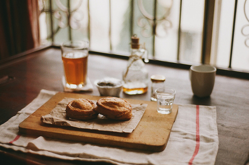 cup and food image