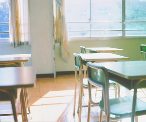 school and japan image