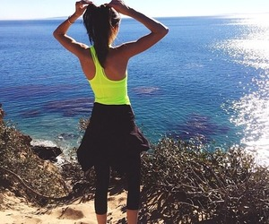 kendall jenner, workout, and fit image