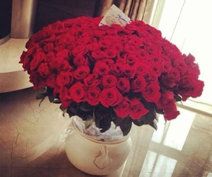 flowers, romantic, and love image
