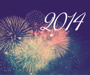 fireworks, happy new year, and sparkle image
