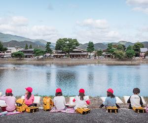 japan, kids, and kyoto image