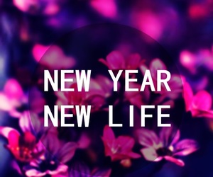 flowers, new year, and pink image