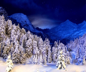 blue, christmas, and cloud image