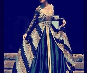 caftan, morocco, and dress image