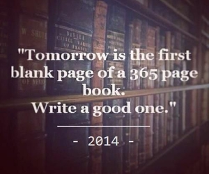 2014, book, and new year image