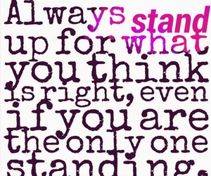 always, it's, and stand image