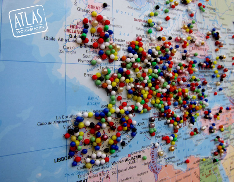 World map pinning uploaded by britt on we heart it gumiabroncs Choice Image