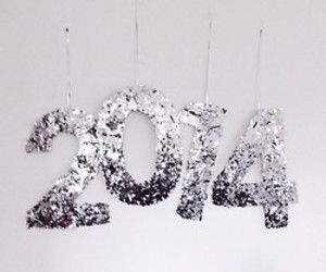 2014, new year, and glitter image