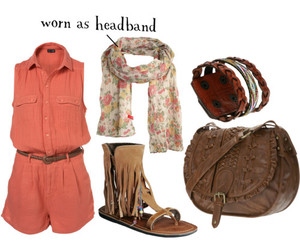 hippie and Polyvore image