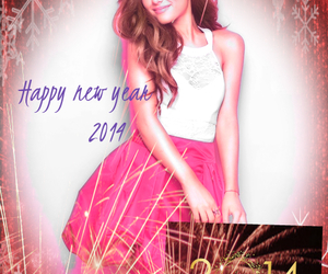 new year, ariana grande, and happy new year image