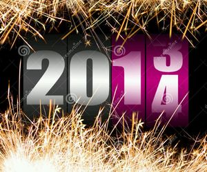 happy new year, 2014, and new year image