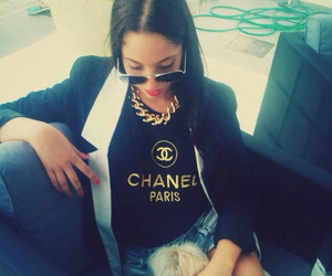 black, swag, and chanel image