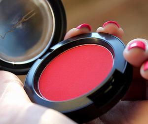 cosmetics, girl, and mac image