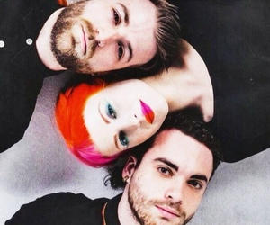 paramore, pink, and red image