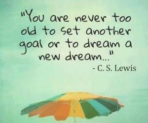 Dream, c. s. lewis, and goal image