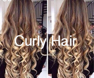 amazing, hair, and curly image