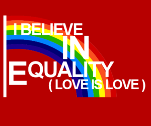 equality, lgbt, and love is love image
