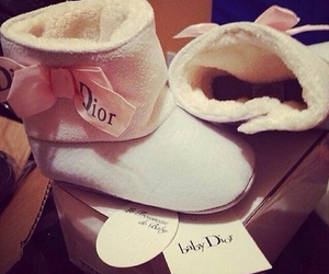 dior, baby, and shoes image