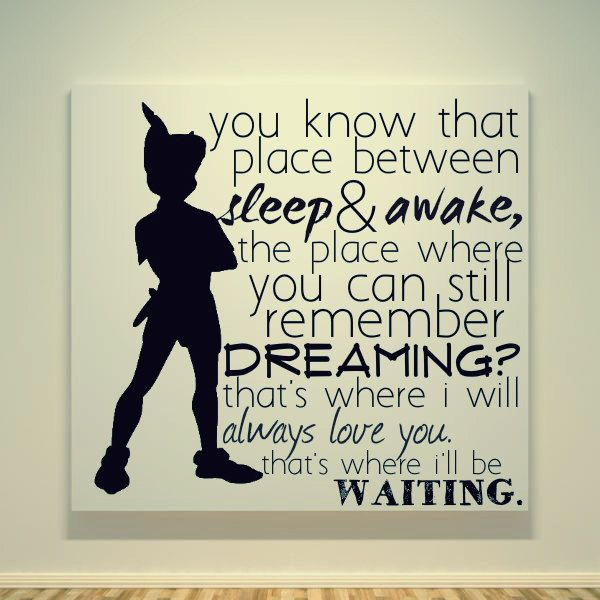 I Love This Quote From Peter Pan On We Heart It
