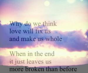 broken, emotional, and happy image