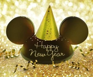 new year, disney, and party image