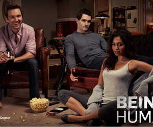 being human, sam huntington, and meaghan rath image