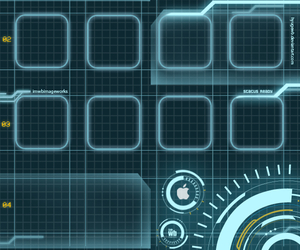 apple, stark industries, and background image