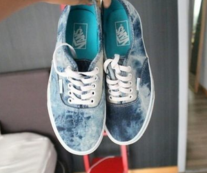 awesome, blue, and print image