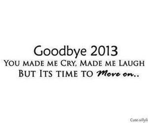 2013, goodbye, and cry image