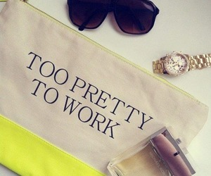 fashion, pretty, and work image