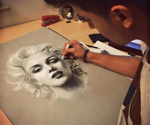 toni mahfud, Marilyn Monroe, and art image